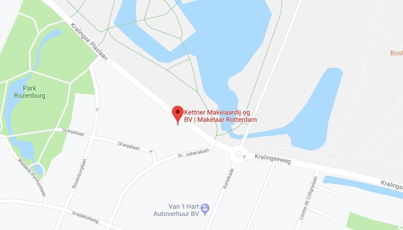 Kaart Kettner kantoor